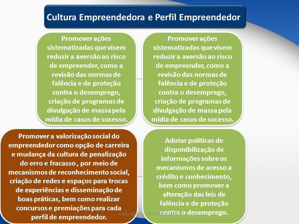 Cultura Empreendedora e Perfil Empreendedor