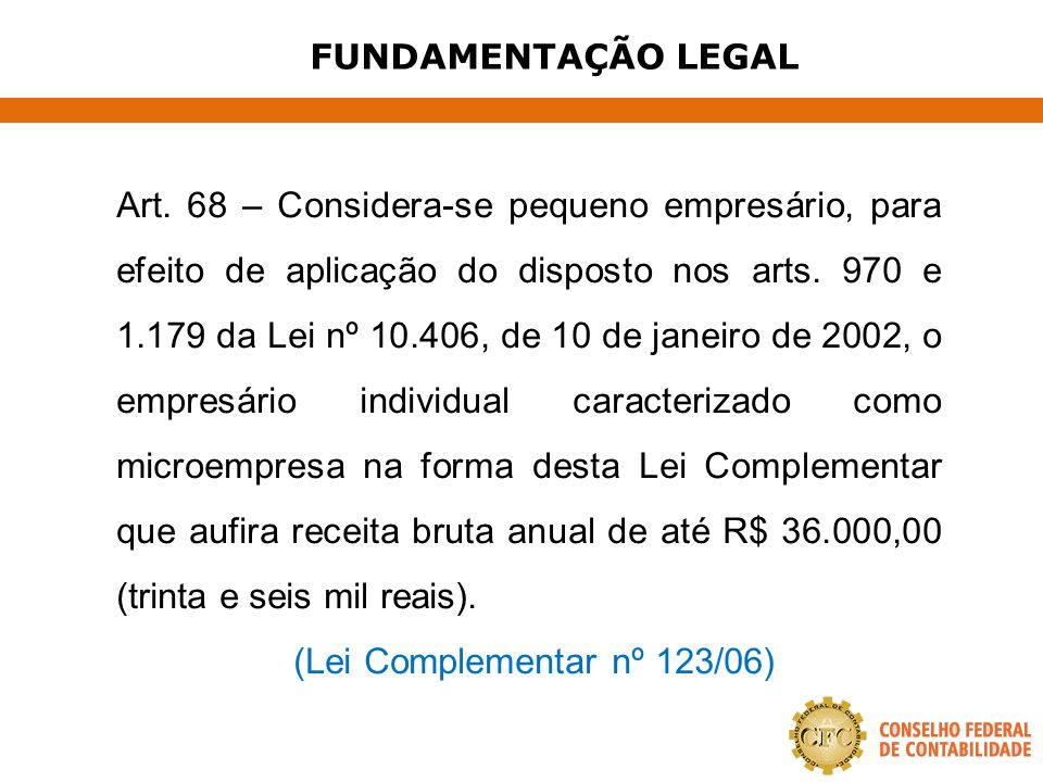 (Lei Complementar nº 123/06)
