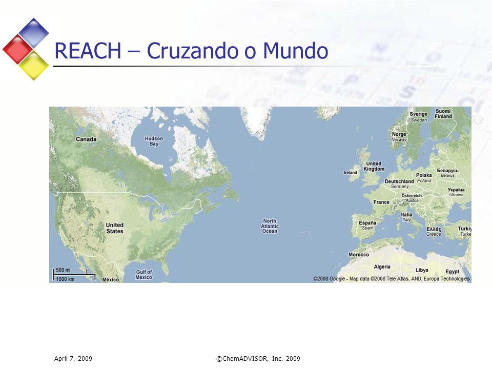 REACH – Cruzando o Mundo