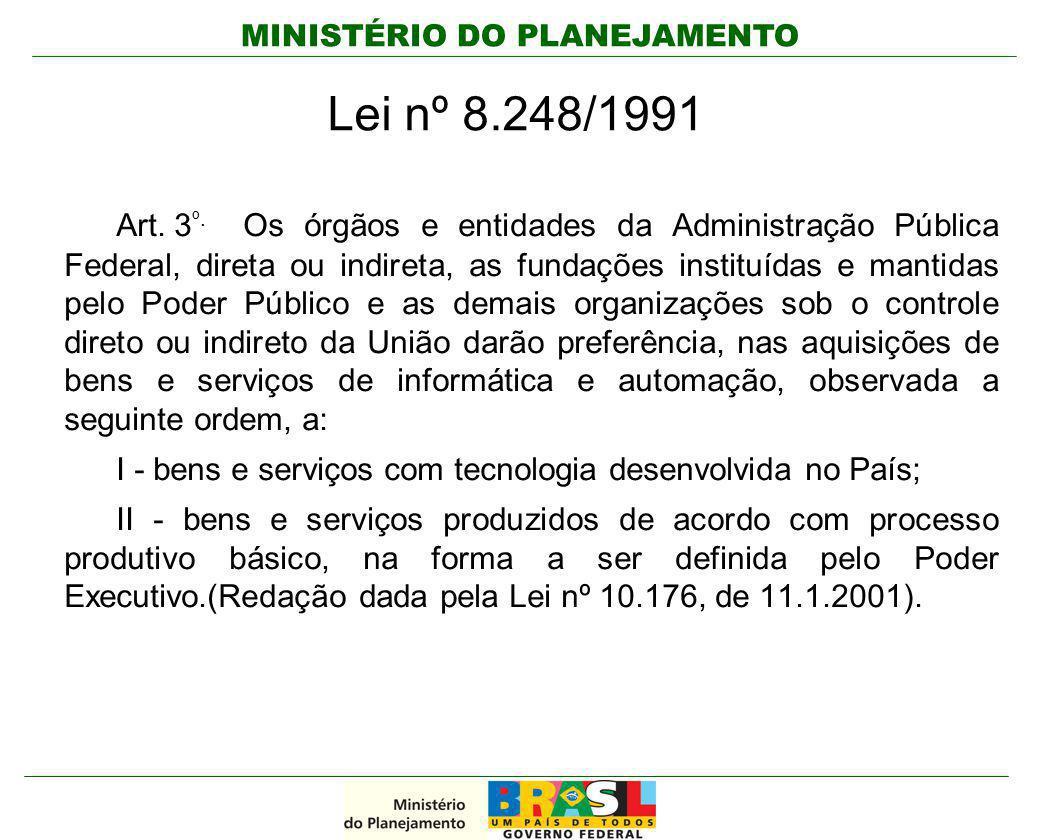 Lei nº 8.248/1991