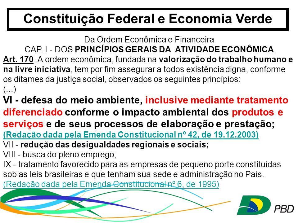 Constituição Federal e Economia Verde