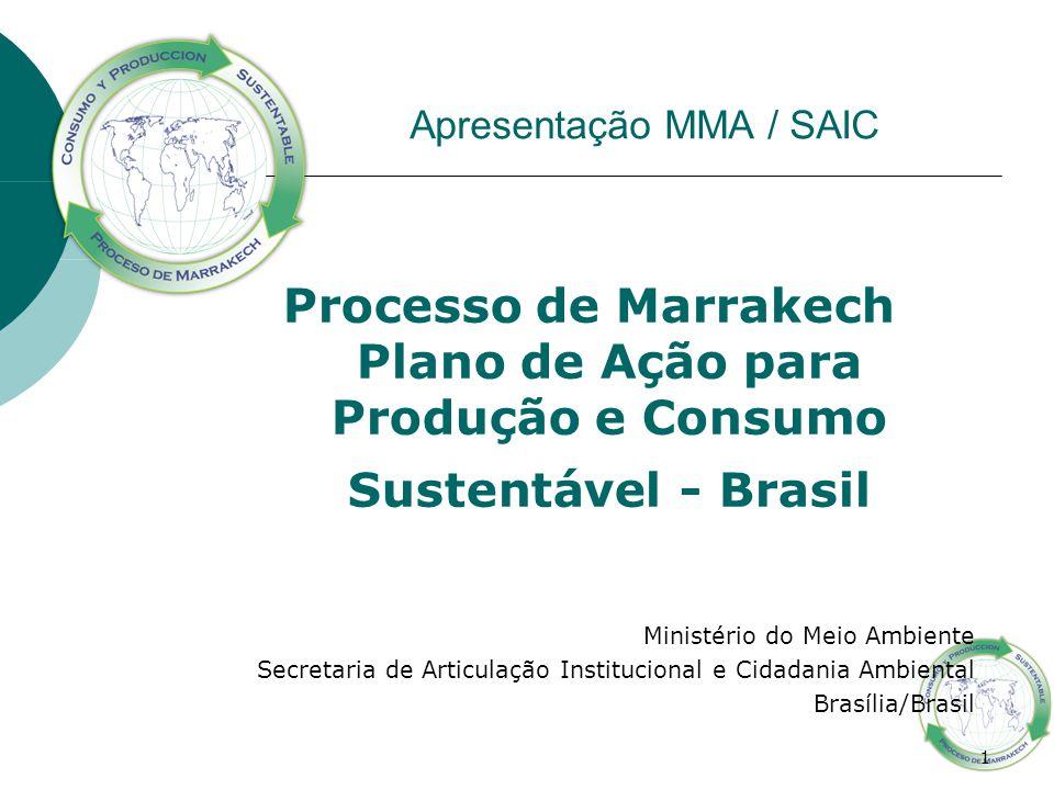 Apresentação MMA / SAIC