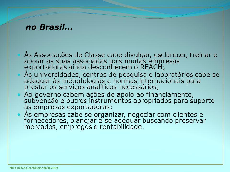 no Brasil...