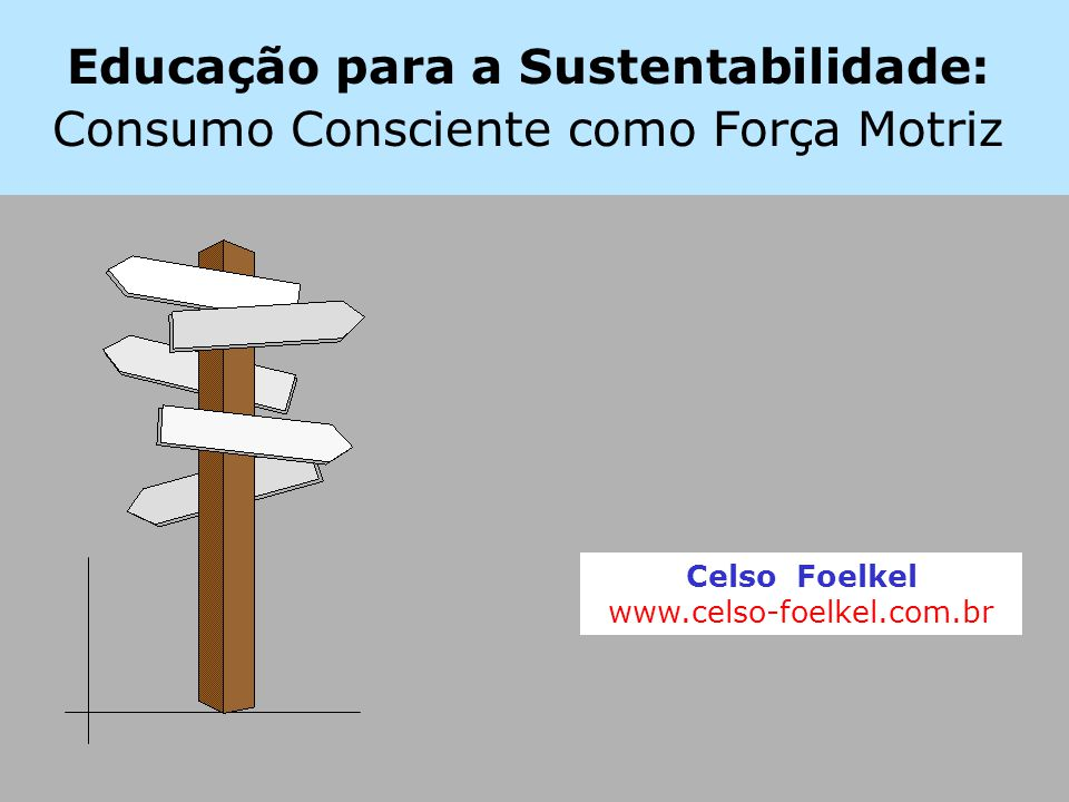 Educação para a Sustentabilidade: Consumo Consciente como Força Motriz