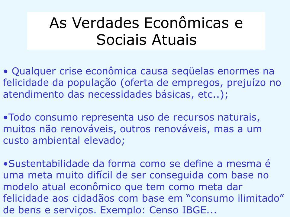 As Verdades Econômicas e Sociais Atuais