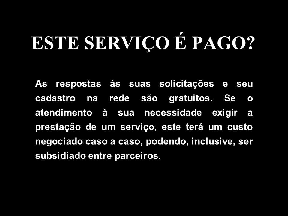 ESTE SERVIÇO É PAGO