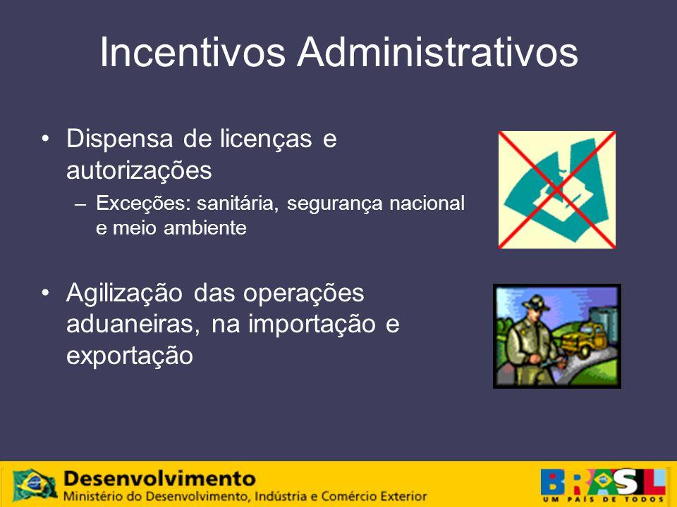 Incentivos Administrativos