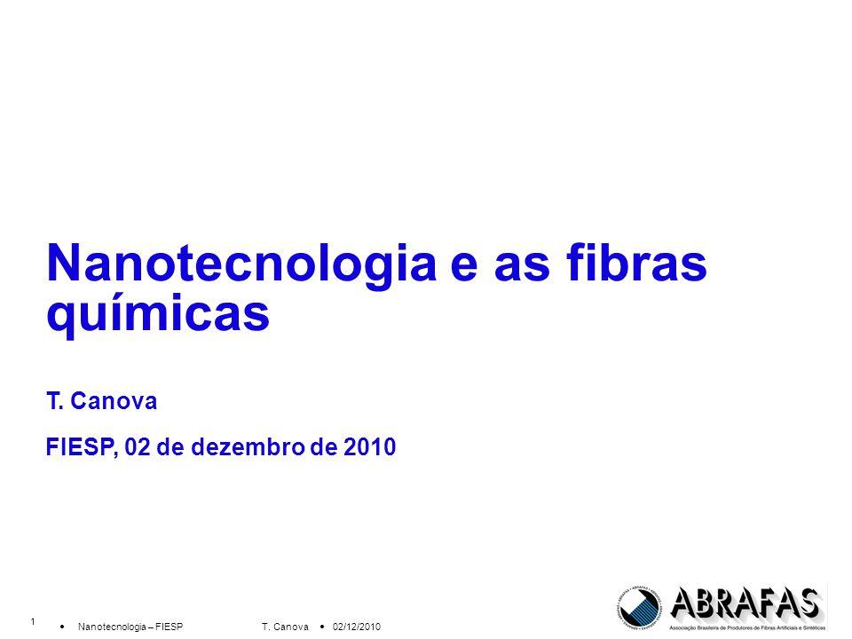 Nanotecnologia e as fibras químicas T