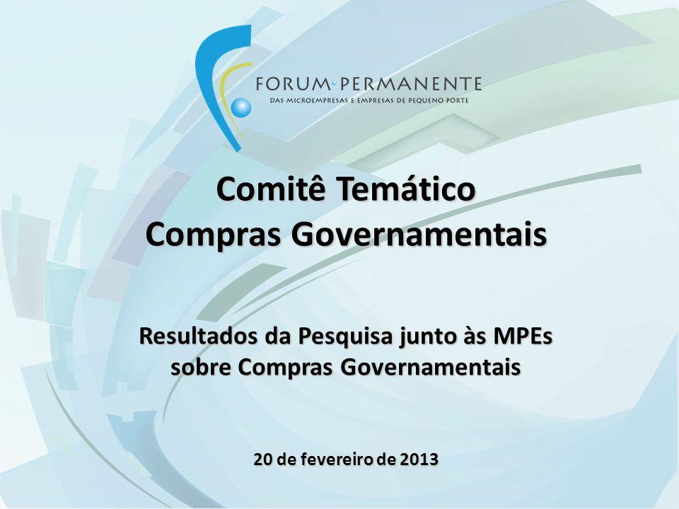 Comitê Temático Compras Governamentais