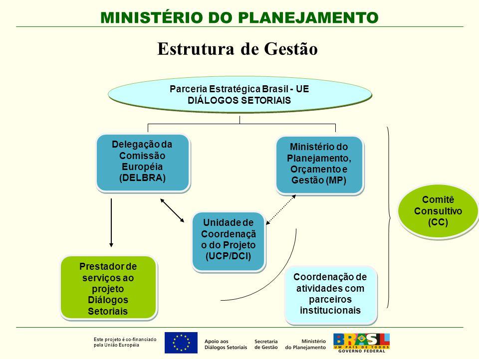 Estrutura de Gestão Parceria Estratégica Brasil - UE
