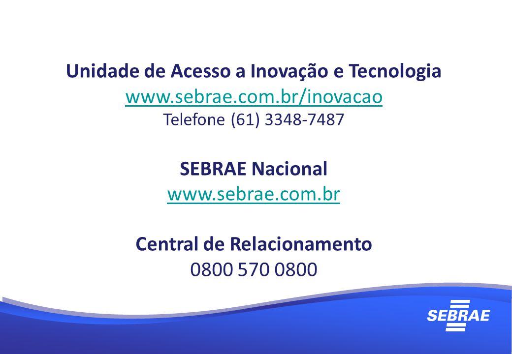 Unidade de Acesso a Inovação e Tecnologia Central de Relacionamento