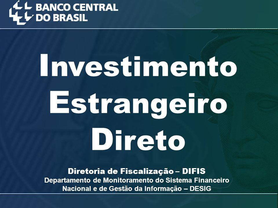 Investimento Estrangeiro Direto
