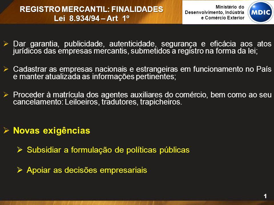 Antecedentes: Constituição Federal