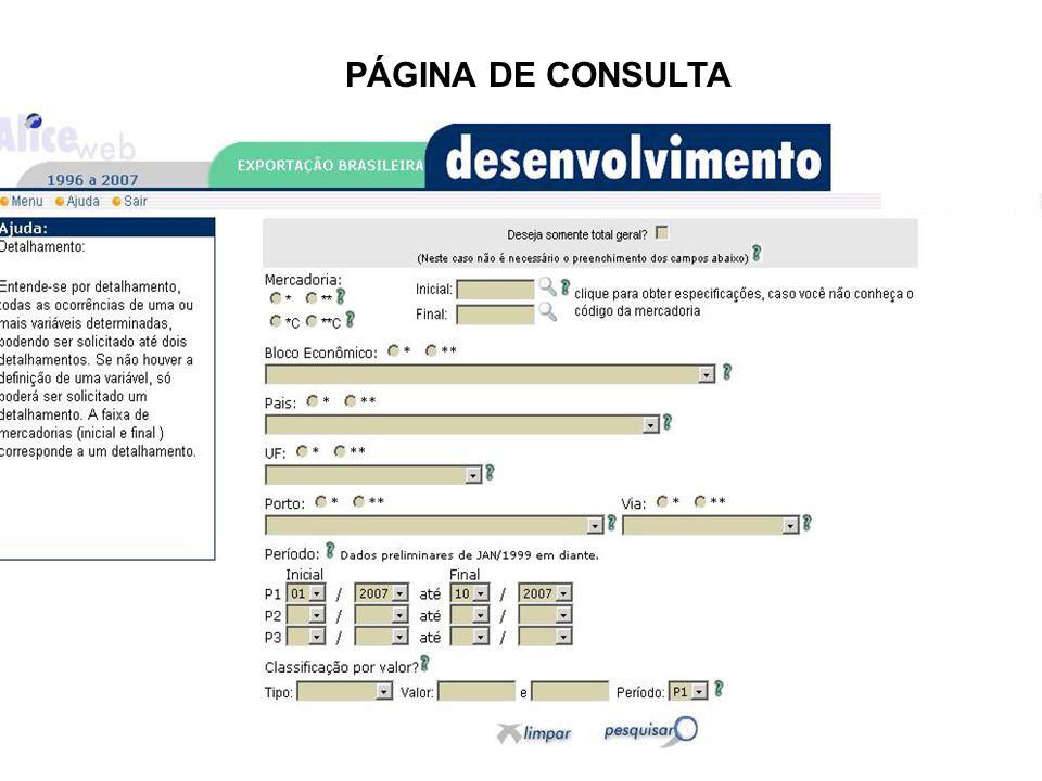 PÁGINA DE CONSULTA