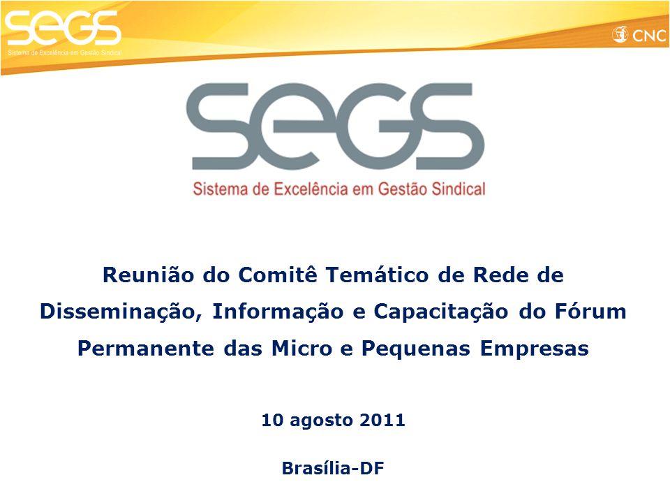 Reunião do Comitê Temático de Rede de Disseminação, Informação e Capacitação do Fórum Permanente das Micro e Pequenas Empresas
