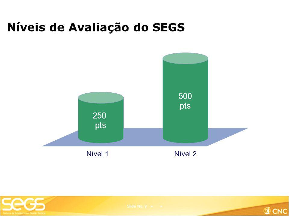 Níveis de Avaliação do SEGS