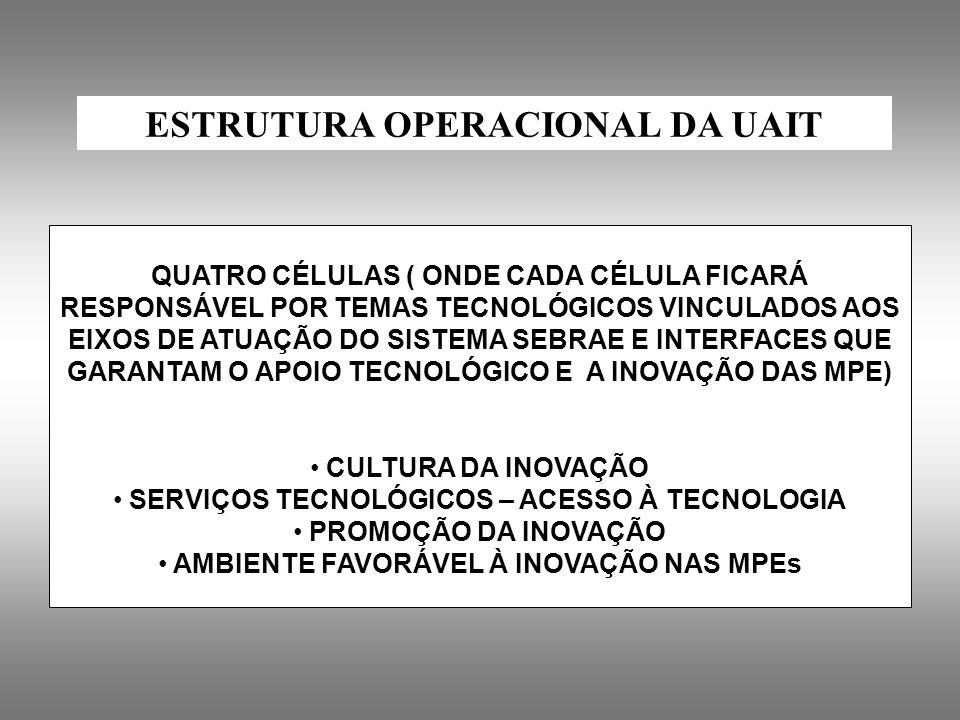 ESTRUTURA OPERACIONAL DA UAIT