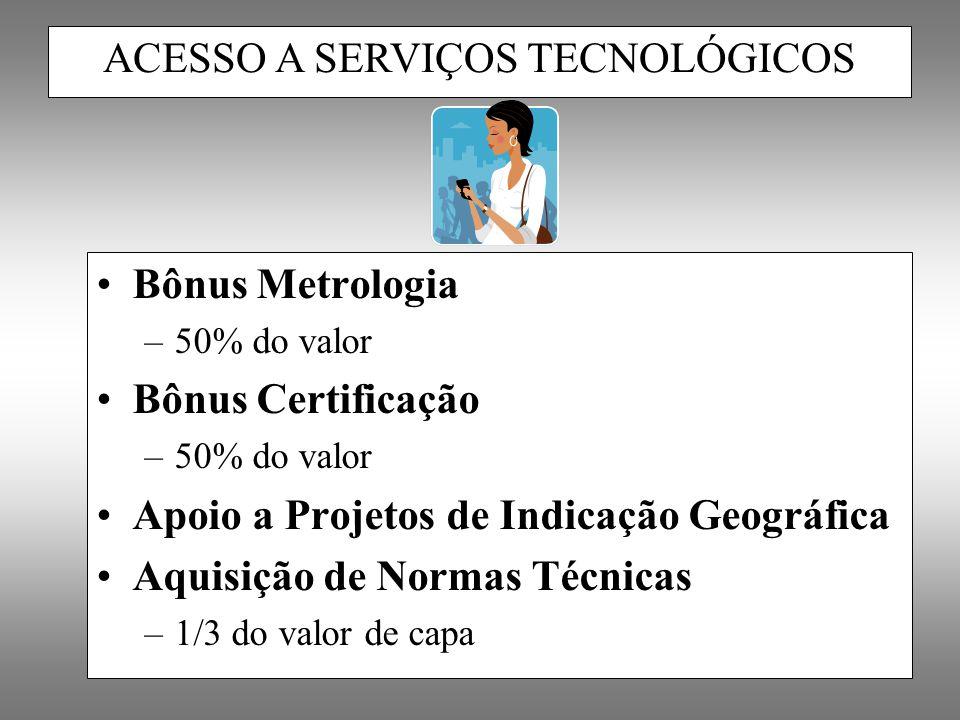 ACESSO A SERVIÇOS TECNOLÓGICOS