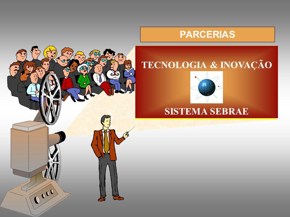 PARCERIAS TECNOLOGIA & INOVAÇÃO SISTEMA SEBRAE