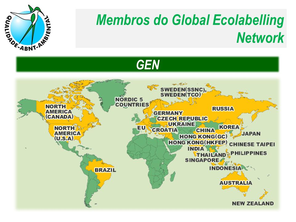 Membros do Global Ecolabelling Network