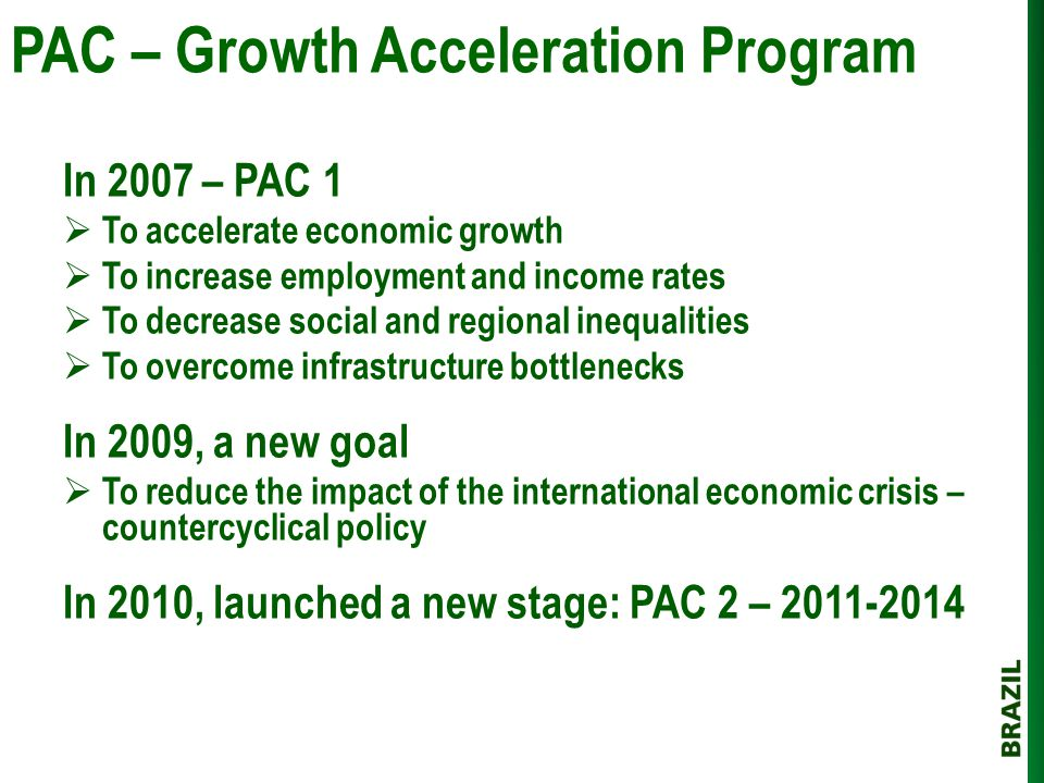 PAC – Growth Acceleration Program