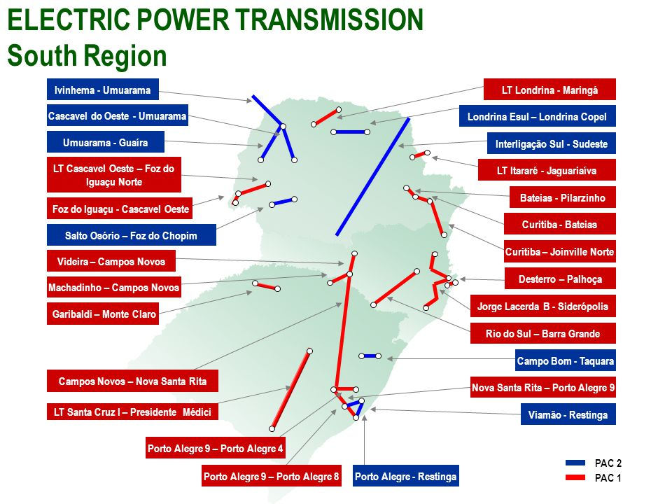 ELECTRIC POWER TRANSMISSION South Region