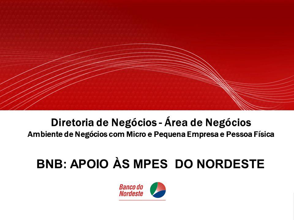BNB: APOIO ÀS MPES DO NORDESTE