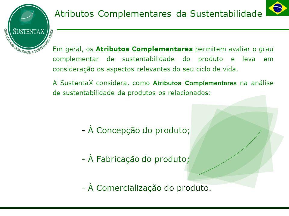 Atributos Complementares da Sustentabilidade