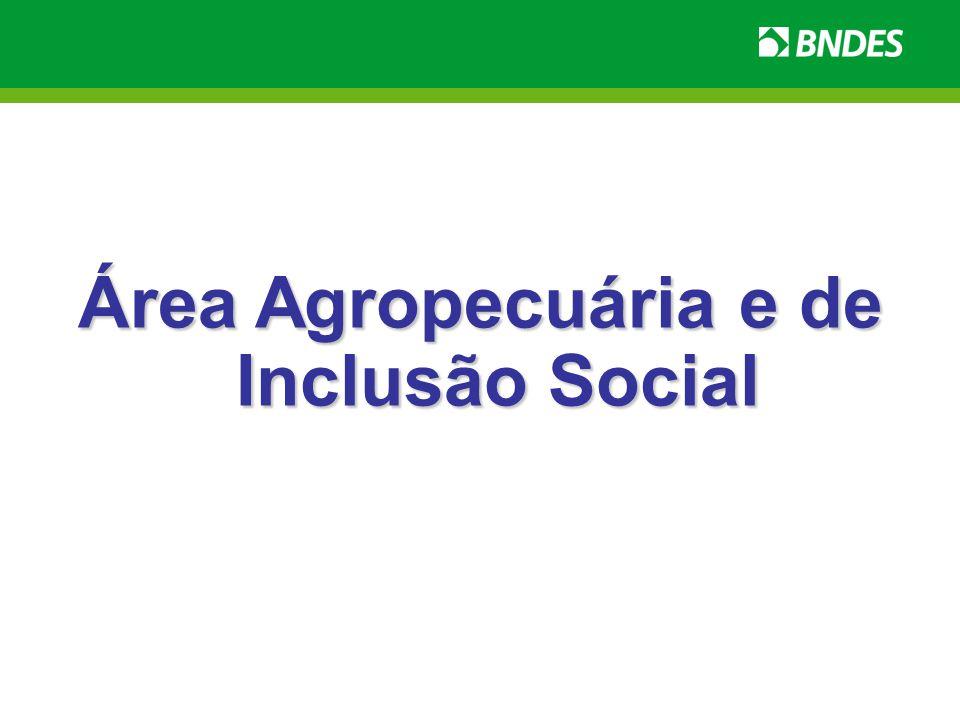 Área Agropecuária e de Inclusão Social