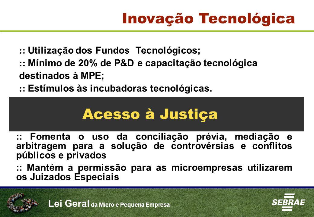 Inovação Tecnológica Acesso à Justiça