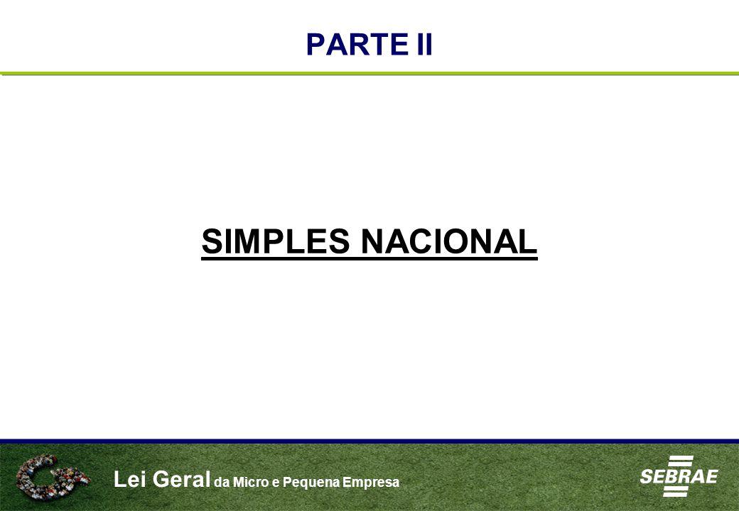 PARTE II SIMPLES NACIONAL
