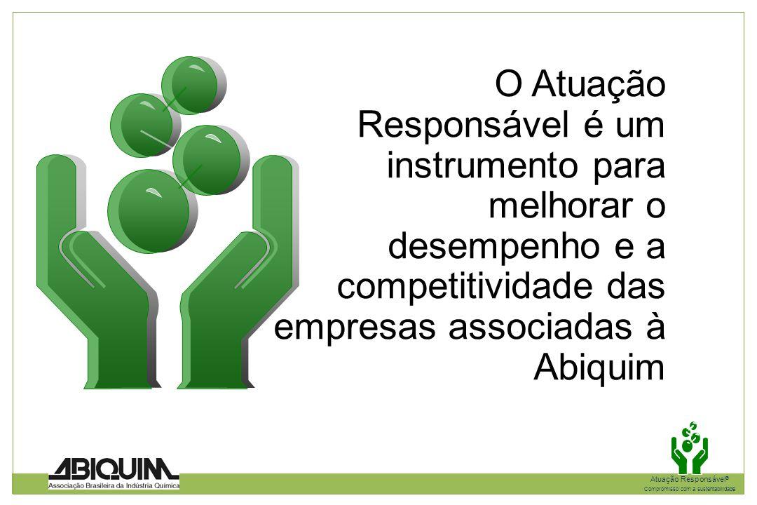 O Atuação Responsável é um instrumento para melhorar o desempenho e a competitividade das empresas associadas à Abiquim