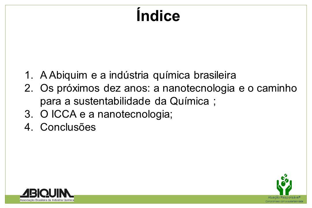 Índice A Abiquim e a indústria química brasileira