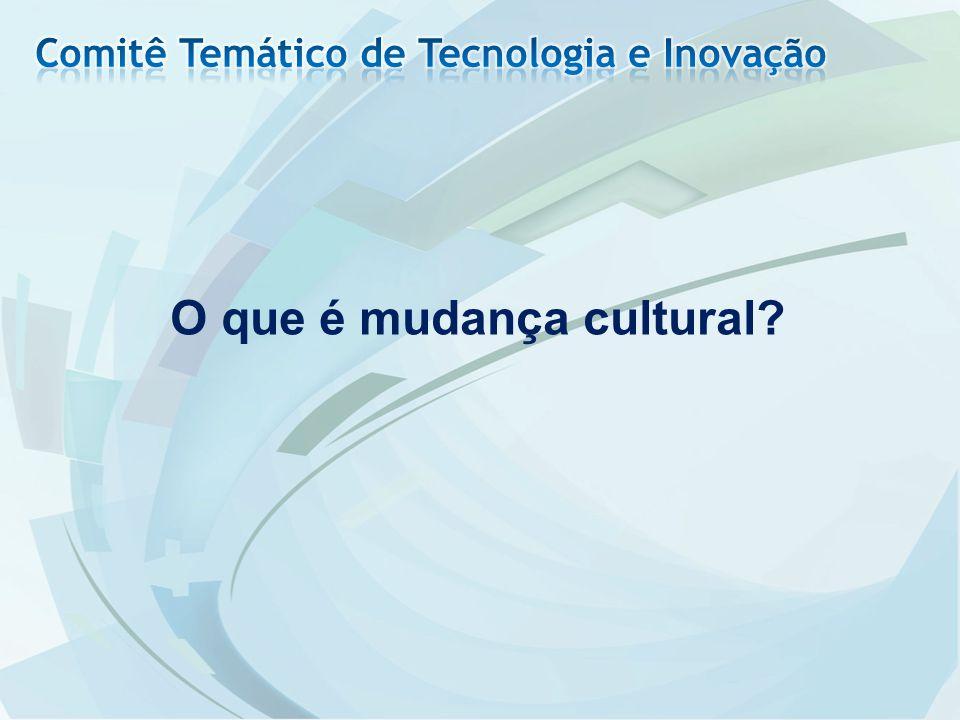 O que é mudança cultural