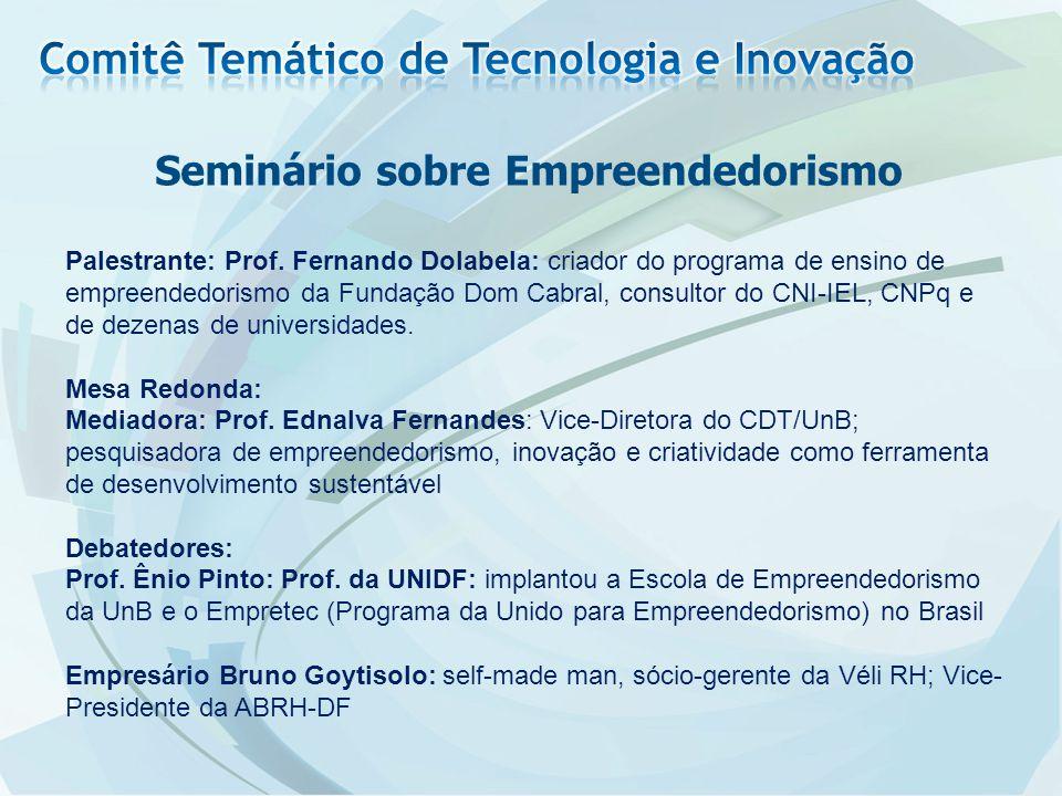 Seminário sobre Empreendedorismo