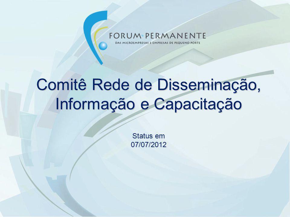Comitê Rede de Disseminação, Informação e Capacitação