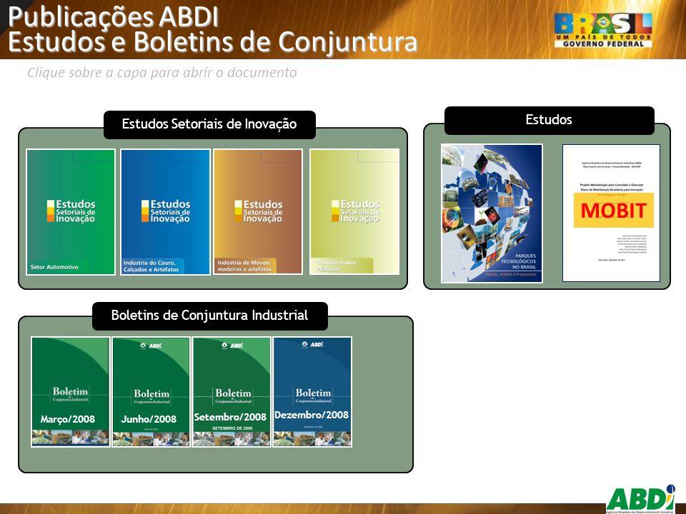 Estudos e Boletins de Conjuntura