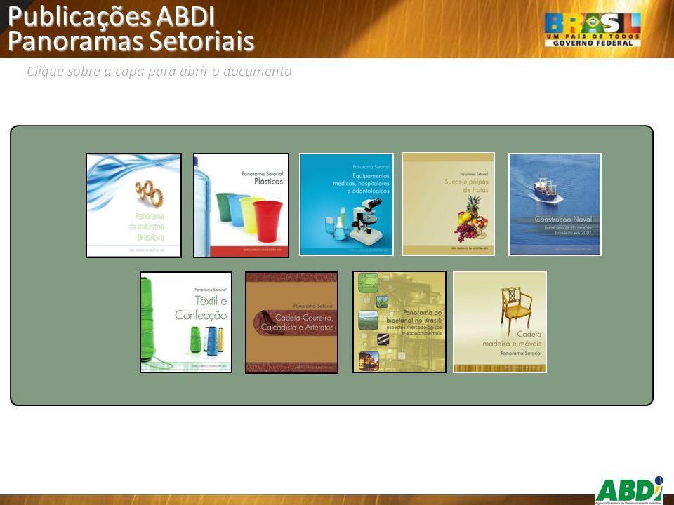Publicações ABDI Panoramas Setoriais