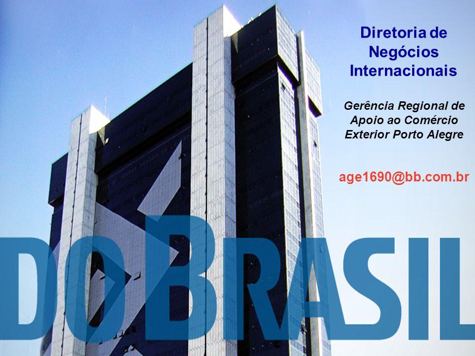 Contatos Diretoria de Negócios Internacionais