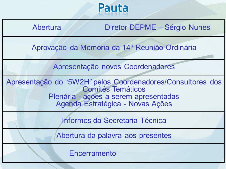 Diretor DEPME – Sérgio Nunes