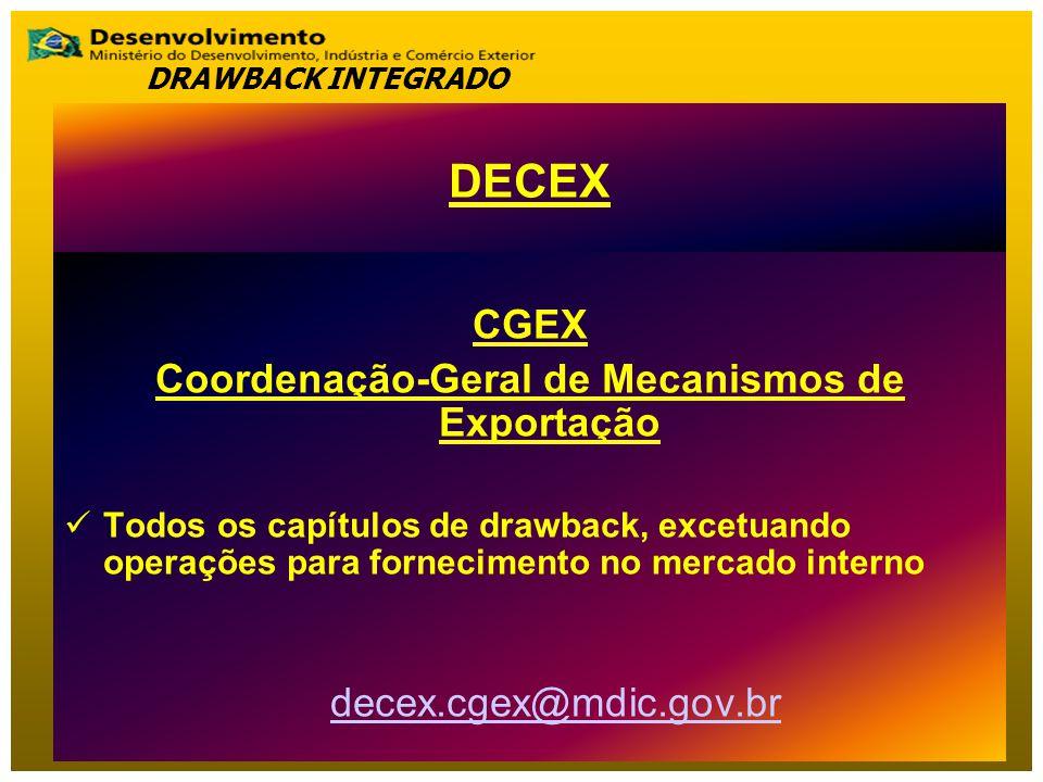 Coordenação-Geral de Mecanismos de Exportação