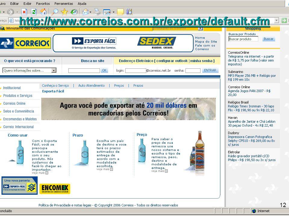 http://www.correios.com.br/exporte/default.cfm