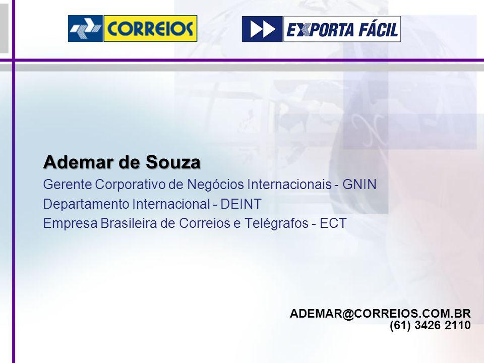 ADEMAR@CORREIOS.COM.BR (61) 3426 2110