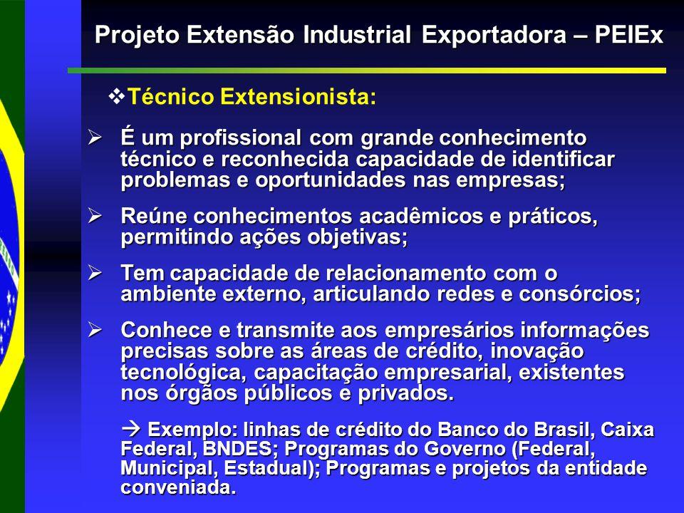 Projeto Extensão Industrial Exportadora – PEIEx