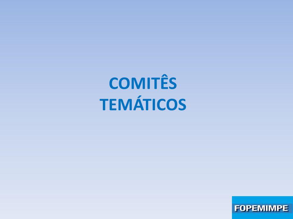 COMITÊS TEMÁTICOS