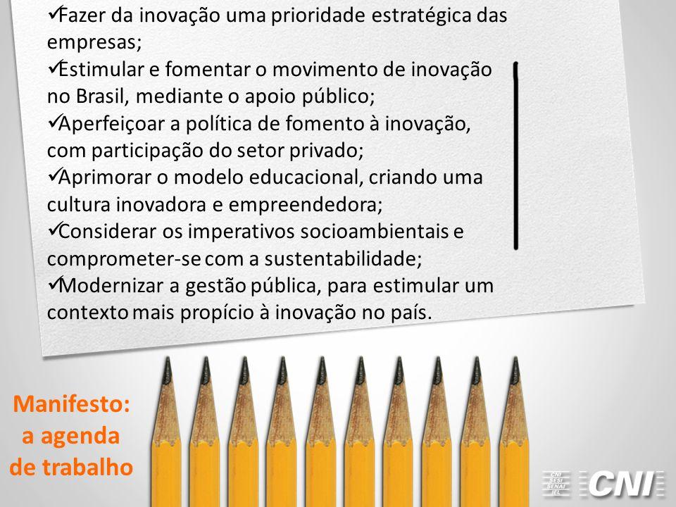 Manifesto: a agenda de trabalho