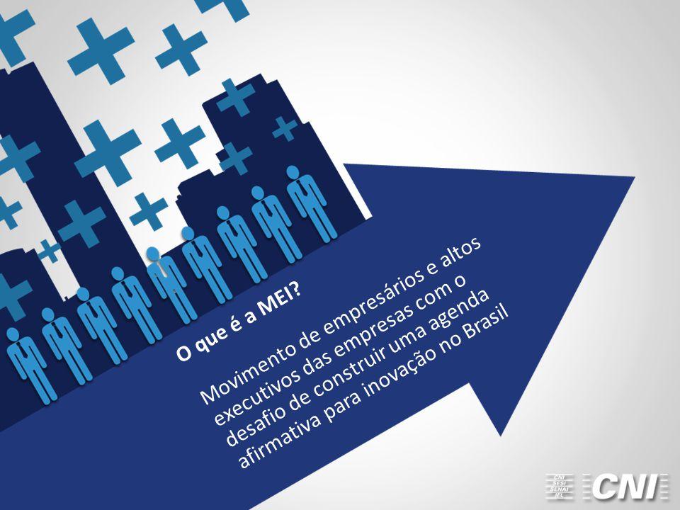 Movimento de empresários e altos executivos das empresas com o desafio de construir uma agenda afirmativa para inovação no Brasil