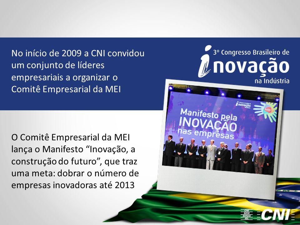 No início de 2009 a CNI convidou um conjunto de líderes empresariais a organizar o Comitê Empresarial da MEI