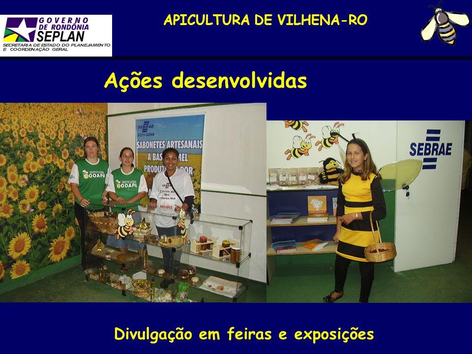 APICULTURA DE VILHENA-RO Divulgação em feiras e exposições