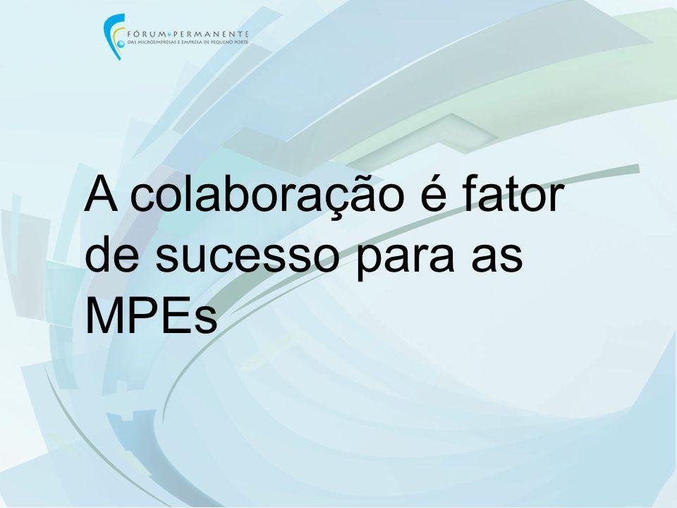 A colaboração é fator de sucesso para as MPEs